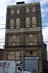 Former Arctic Cold Storage, possible boutique hotel, 1224 Frankford Ave. | Photo: Peter Woodall