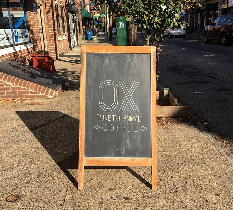 If you live in Queen Village, get your coffee at Ox.